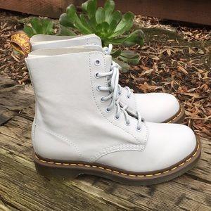 Dr Martens 1460 Pascal Blue Moon Virginia Boots 9L